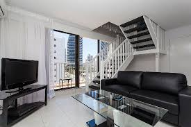 The Level Apartments by 1 Bedroom Split Level Apartment Lounge Picture Of Broadbeach