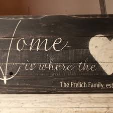 Family Est Sign Home Is Where The Heart Established