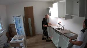 بناء المطبخ ايكيا تثبيت القصاصات سطح العمل بالوعة ikea