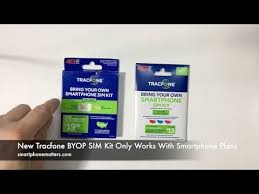 New Tracfone BYOP SIM Kit ly Works With Smartphone Plans