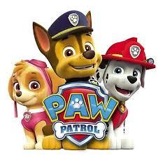 paw patrol wandtattoo 3d schlafzimmer jungen mädchen große