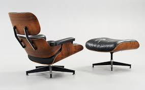 A Charles & Ray Eames 'Lounge Chair With Ottoman