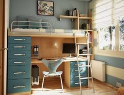 study table and bed attached google search girls room
