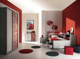 Stylish Design Junior Bedroom Interior Decoration High Tech Furniture Home And