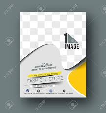 100 Magazine Design Inspiration Flyer Poster Layout Template In A4 Size Vector