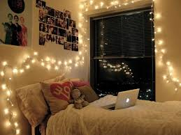 Christmas Lights Decoration Idea For Bedroom