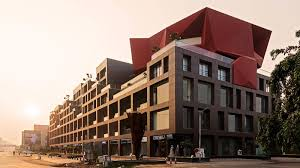 100 Sanjay Puri Architects In India A MidRise Complex Embraces Eclectic Urbanism