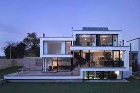 100 Cheap Modern House White Glass Exterior Designs That Can Be Decor