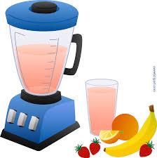 Blender And Fruit Smoothie Clip Art