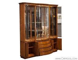 Drexel Heritage Sinuous Dresser by Vintage Drexel Heritage Breakfront Display Cabinet From A Unique