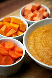 Pumpkin Butternut Squash Soup Vegan by Squash Sweet Potato Carrot And White Bean Soup Popsugar Fitness