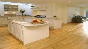 Wood Floor Kitchen Ideas Elegant Engineered Flooring Kitchens With Medium Maple
