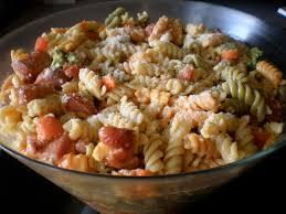 Everything But The Kitchen Sink Pasta Salad