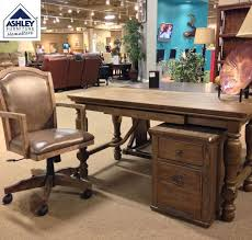 Vintage Inspiration With A Softer Side Tanshire Home Office Desk Sets The Stage For Rustic