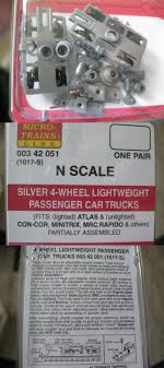 Other N Scale Parts And Accs 13294: Micro-Trains Stock #00342051 ...