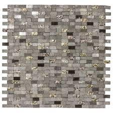 Jeffrey Court Mystical Mini Brick 12 75 in x 12 125 in x 8 mm