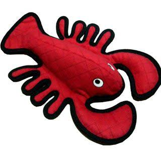 Tuffy Ocean Creatures Lobster Dog Toy