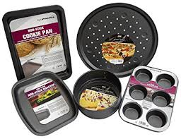 Oven Trays Set For One Person Bundle With Non Stick Small Baking
