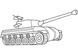 Click To See Printable Version Of Tank Coloring Page