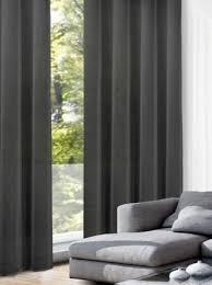 gardinen vorhang schwarz einfarbig im doppelpack günstig
