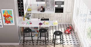 cuisine amenagee en u cuisine amenagee en u 2 la cuisine design xxs avec options