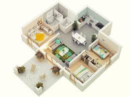 25 weitere 3 schlafzimmer 3d grundrisse grundrisse