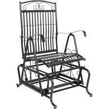 Best Choice Products Outdoor Patio Iron Rocker Glider Porch Rocking Chair -  Black 1960s Rocking Chair In Red Plastic Strings On Black Metal Frame Wicker Grey At Home Details About Lawn Rocker Patio Fniture Garden Front Porch Outdoor Fleur Chairs Coffee Table Mesh Rare Salterini Radar Wrought Iron Scrollwork Design Decorative Deck Monceau Chair For Outdoor Living Space Staton Amazonin Kitchen Amazoncom Mygift Dark Brown Woven Metal Patio Rocking Chairs Carinsuncerateszipco Hampton Bay Wood