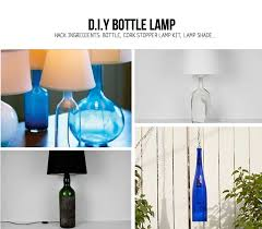 DIY Bottle Lamp Ideas
