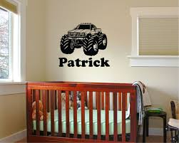 100 Monster Truck Wall Decals Personalized Wall Decal 2495 Arise