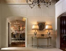 Marvelous Decorating Ideas For Wood Paneled Walls Gallery In Entry Traditional Design