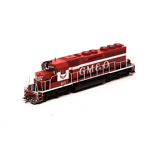 Athearn - HO RTR SD40 w/DCC & Sound, GM&O/Red & White #913 - 86825