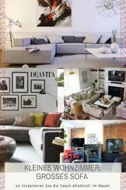 kleines wohnzimmer aber großes sofa geht das wirklich