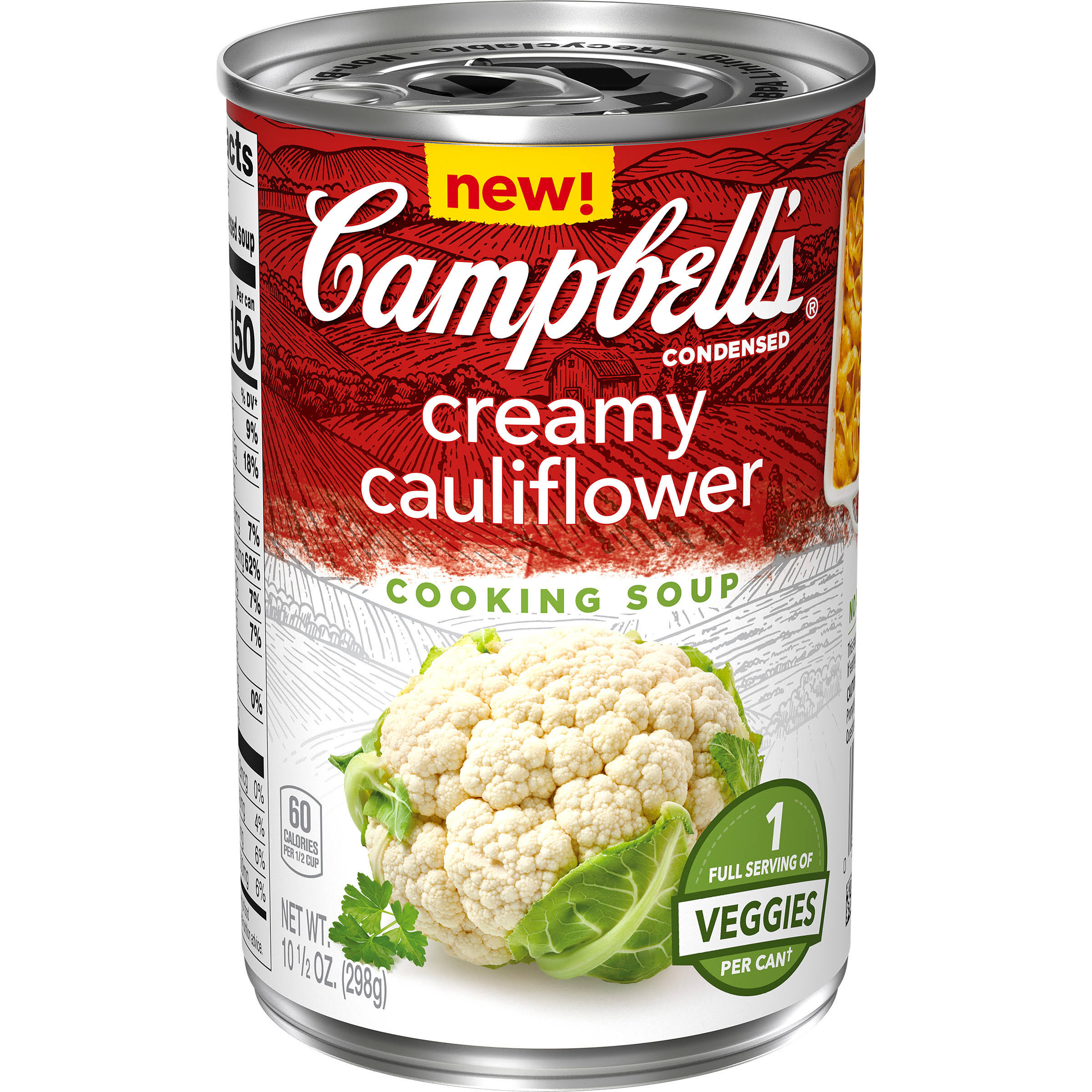 Campbell's Condensed Cooking Soup Creamy Cauliflower (10.5 oz.)