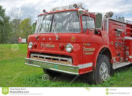 100 Ford Fire Truck Vintage Truck In Potsdam New York USA Editorial Photography