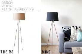 Medium Size Of Tripod Lamp Homemade Floor Sarah M Dorsey Designs Knocktoberfest Diy Lighting Unique Ideas