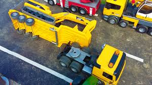 BRUDER Toys Truck Crash! - YouTube