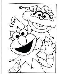 Coloring Pages Free Elmo Alphabet Page Printable Kids Download Christmas Color