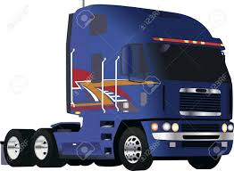 100 Big Blue Truck Powerful Royalty Free Cliparts Vectors And Stock