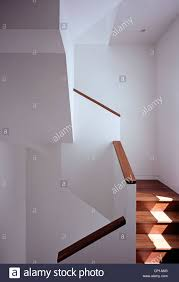 100 Belsize Architects Sunlit Geometric Staircase And Banister Architects