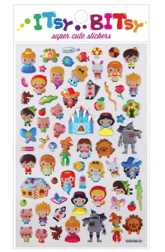 Ooly Itsy Bitsy Stickers - Fairy Tales