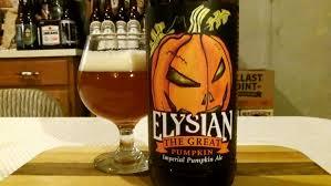 Harvest Pumpkin Ale by Elysian Brewing Co The Great Pumpkin Ale 8 1 Abv Djs Brewtube