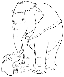 Theres No One Quite Like Dumbo This And 1000s Of Other Disney FREE Colouring