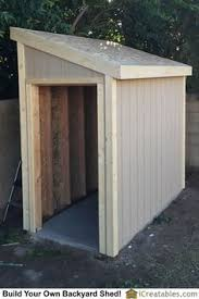 small storage for along the side of a house extra storage
