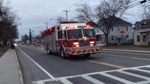 100 Fire Trucks On Youtube South Glens Falls Engine Rescue 586 Responding YouTube