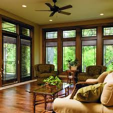 Sliding Door With Blinds In The Glass by Designer Series Sliding Patio Doors With Built In Blinds Pella