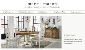 Mane Mason Modern Farmhouse Dining Room Furniture