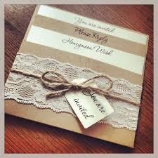 1 Vintage Shabby Chic Style Lace Pocket Rebecca Wedding Invitation Sample In Home Furniture DIY Supplies Cards Invitations