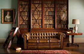 canap chesterfield cuir vieilli canapé chesterfield en cuir 3 places marron stanley