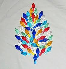 Ceramic Christmas Tree Plastic Light Up Large Twist Bulbs Lights For Your