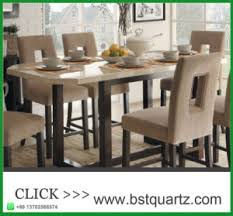 China Quartz Stone Top Dining Tables Manufacturers Suppliers
